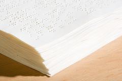 Blindenschrift-Dokumente Lizenzfreie Stockfotos