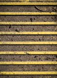 Blindenschrift-Pflasterung - Tastpflasterungsoberfläche Beschaffenheit, Muster Lizenzfreie Stockbilder