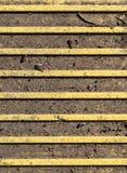 Blindenschrift-Pflasterung - Tastpflasterungsoberfläche Beschaffenheit, Muster Lizenzfreies Stockfoto
