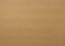 Blindenschrift-Punkte Lizenzfreie Stockbilder