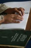 Blindenschrift-Quran (koran) Stockfotos