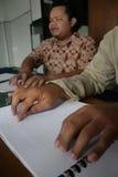Blindenschrift-Quran (koran) Lizenzfreie Stockfotografie