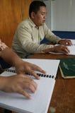 Blindenschrift-Quran (koran) Lizenzfreie Stockfotos