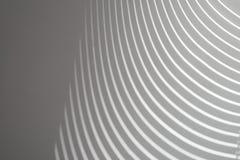 Blinder Schatten auf weißem Hintergrund Lizenzfreies Stockbild