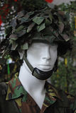 Blinder Soldat Stockfoto