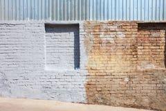 Blindes Geheimnis versteckte Fenster Stockbild
