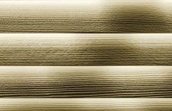 Blindes Holz mit Goldtönung Stockbilder