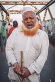 Blindes indisches begger Stockfotografie