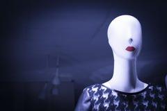 Blindes Modemannequin des Shops Stockbilder