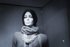 Blindes Modemannequin des Shops Stockbild
