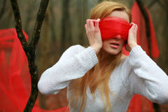Blindfold Stock Photos