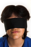Blindfold stock photo