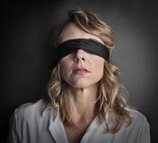 blindfold Image libre de droits