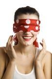 Blindfold Imágenes de archivo libres de regalías