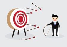 Blindfold Businessman Concept Stock Photo