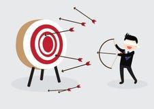 Blindfold Businessman Concept Stock Image