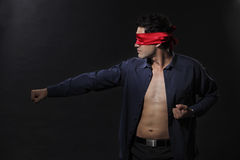 Blindfolded Stock Photos