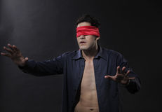 Blindfolded Stock Photography