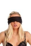 Blindfolded Royalty Free Stock Photo