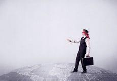 Blindfolded businessman Stock Photography