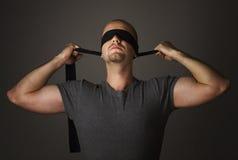 Blindheit und Leistung Stockfotos