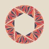 Blindpictogram Het pictogramteken van het veelhoekblind Royalty-vrije Stock Afbeeldingen