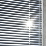 Blinds. Rising sun behind the blinds Stock Photos
