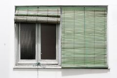 Blinds Duality Royalty Free Stock Photo