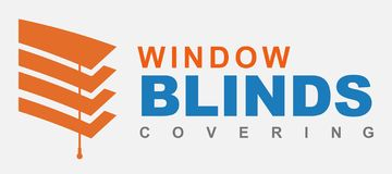 Blinds logo stock photos