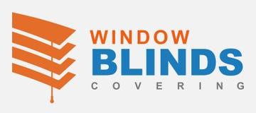 Blinds logo stock photos