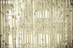 Blinds made ​​of rope Stock Photos