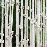 Blinds made ​​of rope Royalty Free Stock Image