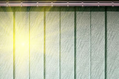 Blinds protect from the sun. Vertical blinds on the window of the office Stock Image