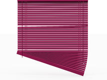 Blinds rendered on white Stock Photography
