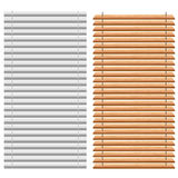 Blinds set Stock Photos