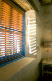 Blinds and Sunshine royalty free stock images