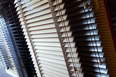 Blinds. Venetian blinds in a showroom royalty free stock photography