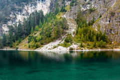 Blindsee, Austria. Blindsee is a small lake in the Alps, in Austria Royalty Free Stock Images