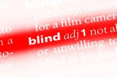 blindside 免版税图库摄影