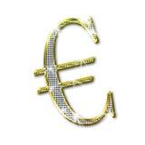 bling的欧元 免版税库存照片