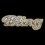 Bling-Bling. Diamanten. Gedetailleerde vector. Royalty-vrije Stock Fotografie