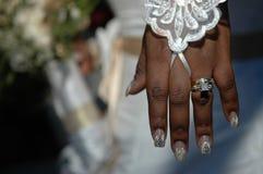bling bröllop royaltyfria foton