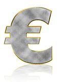 Bling Euro Symbol Royalty Free Stock Photo