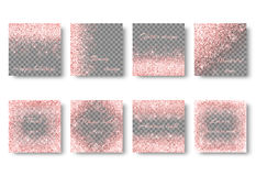 Bling pink background Stock Image