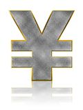 Bling Yen Symbol Stock Photos