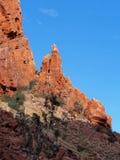 Bliźniaków szczyty przy Emily Gap Obraz Stock