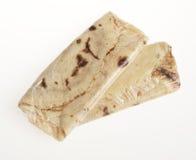 Blinis ou crêpes roulés fraîchement cuits au four d'isolement image stock