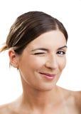 blinkögon Fotografering för Bildbyråer