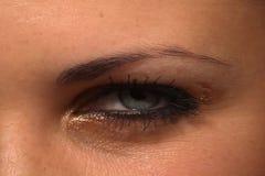 Blink eye stock video