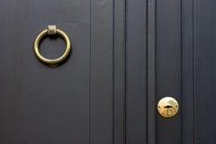 Blink knocker. A blink knocker in door colonia del sacramento uruguay royalty free stock images